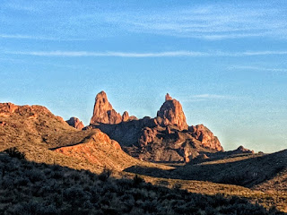 Mule Ears from the Mules Ear overlook