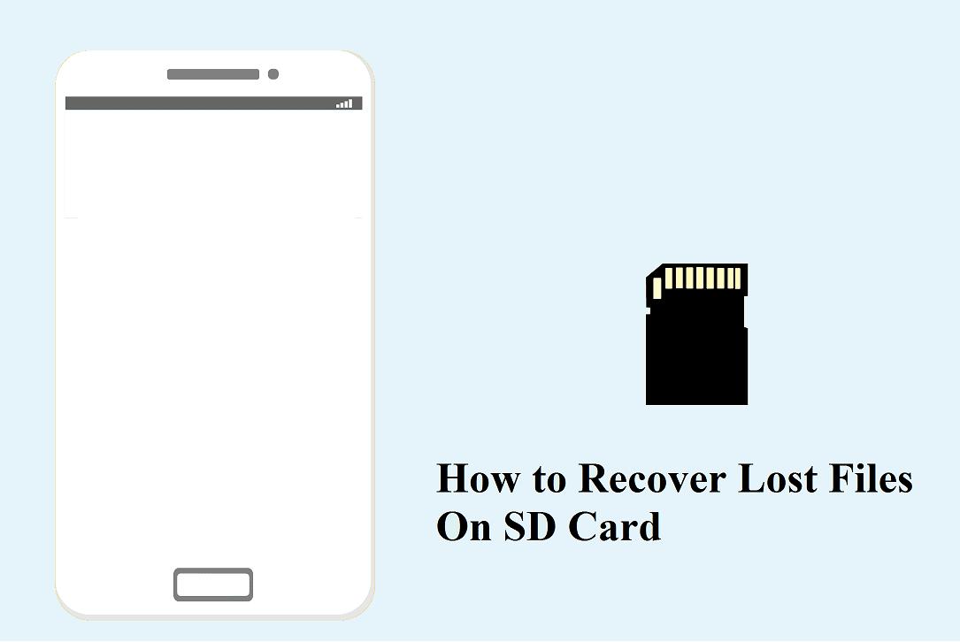 Mengembalikan video foto atau dokumen terhapus di kartu memori