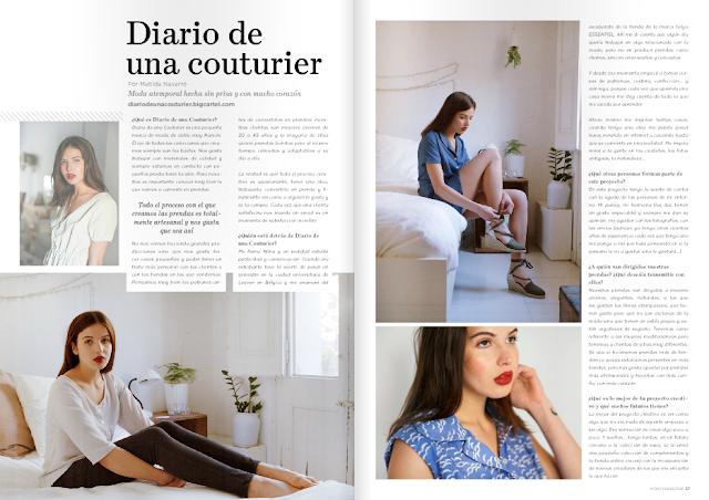 Diario de una couturier | Moda slow con mucho corazón