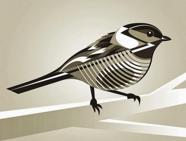 Pájaro retoque digital