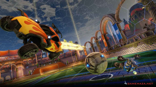 Rocket League Revenge of the Battle Cars Gameplay Screenshot 1