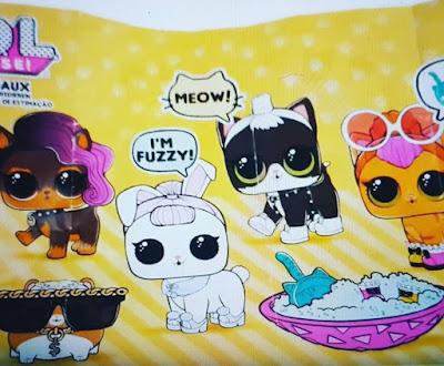 Новая коллекция шаров LOL Surprise Pets 2017