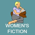 women's fiction book icon
