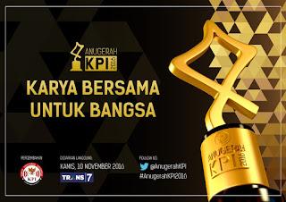 Nominasi Pemenang Anugerah KPI 2016