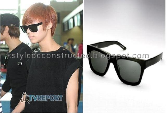 db378296cbf while Key chose to be cheap. he s wearing Cheap Monday Automatism Sunglasses