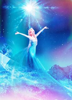 Foto gambar Elsa Frozen keren abis