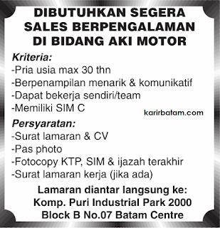 Lowongan Kerja Puri Industrial Park
