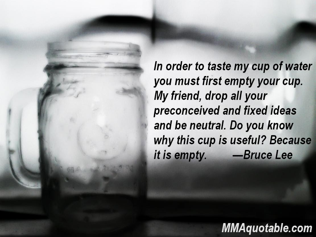 Cup Half Full Quotes: Motivational Quotes With Pictures (many MMA & UFC): In