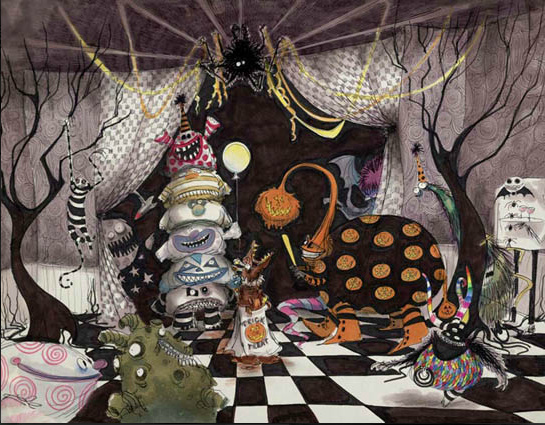 The Art of Tim Burton. Dibujos y Pinturas | Painting & Drawing