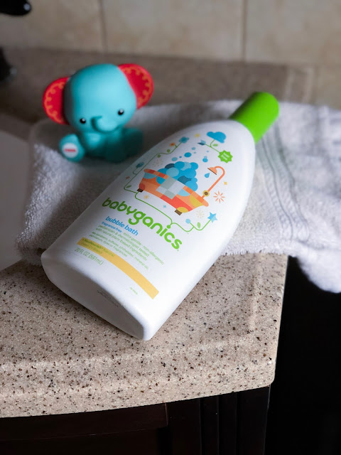 babyganics bubble bath baby