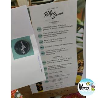Kit de marmitinhas saudáveis - Chef Kelly Garcia