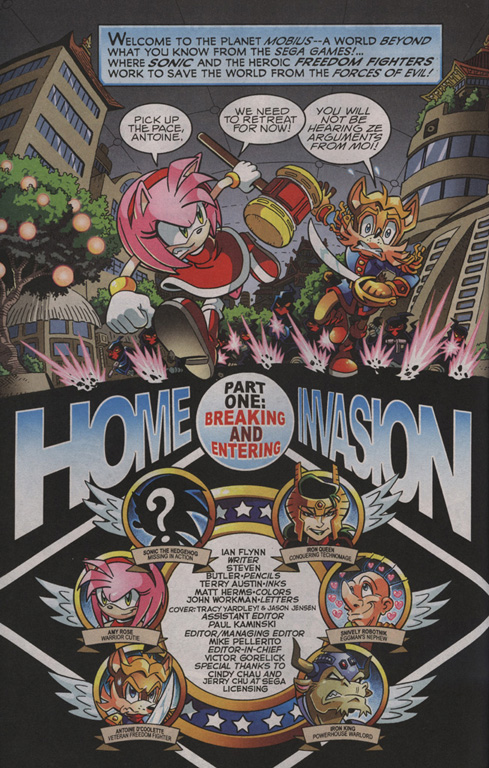 Read online Sonic The Hedgehog comic -  Issue #210 - 3