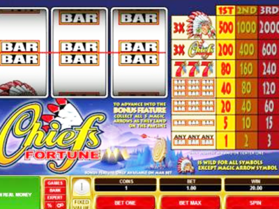 Chief's Fortune Slots
