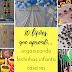 10 lições que aprendi organizando festinhas infantis caseiras