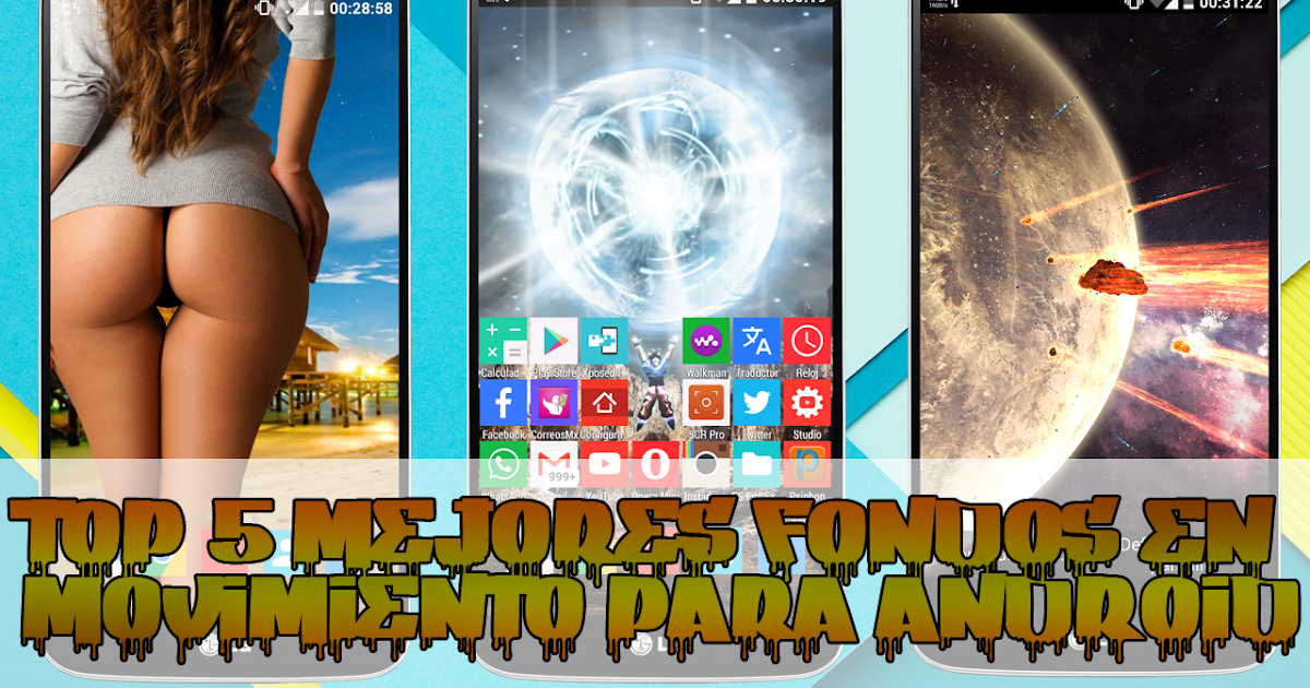 Mejores fondos en movimiento para android 2015 top 5 for Wallpapers 3d con movimiento para android