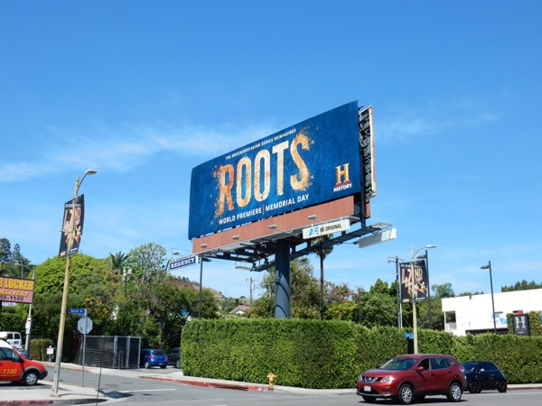 Roots History remake billboard