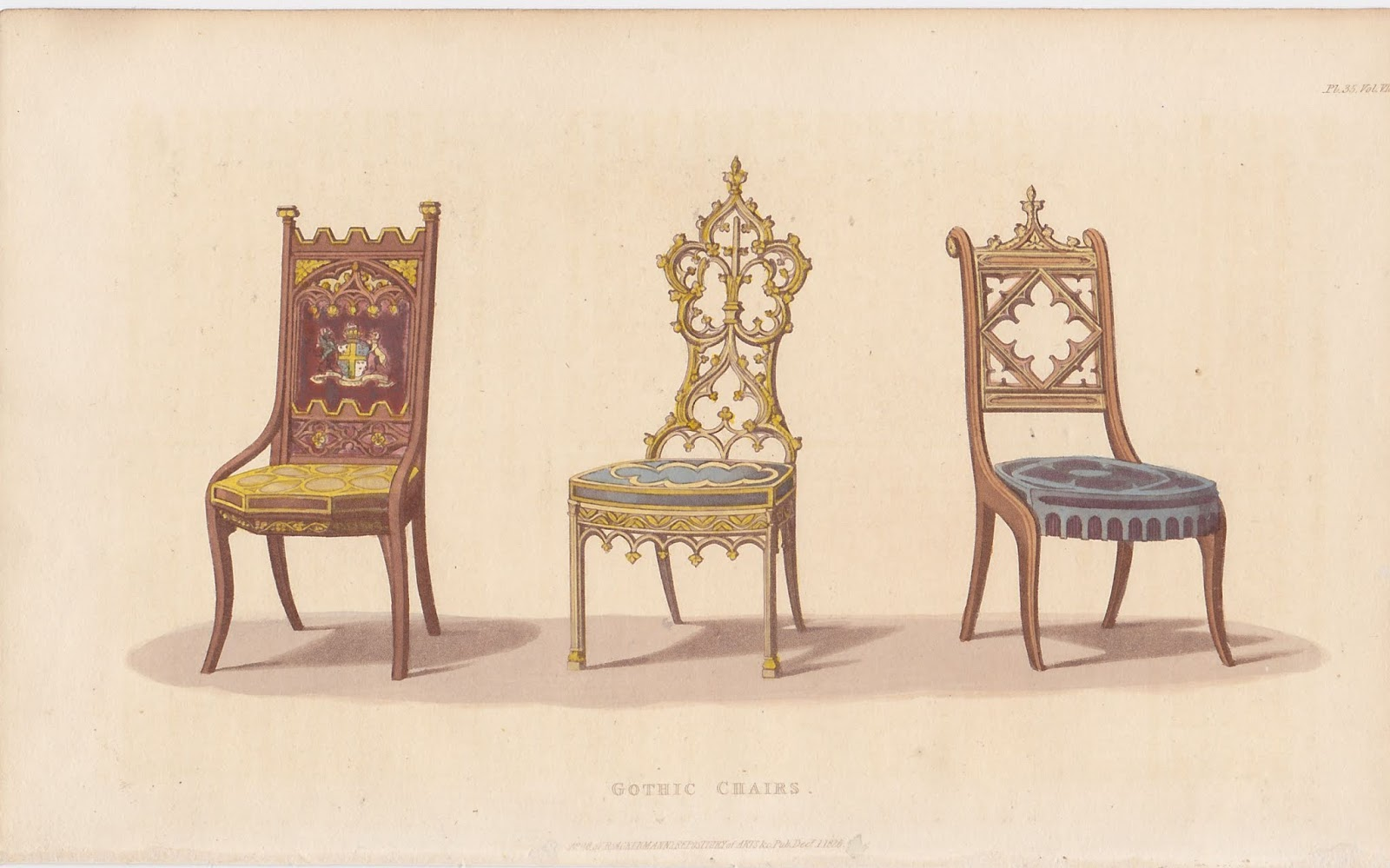 Nineteenteen Chairs That Go Bump In The Night Gothic Furniture Part 3