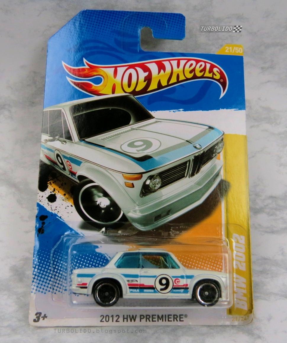 TURBOLIDO Cars: HOT WHEELS BMW 2002 / HW V5601