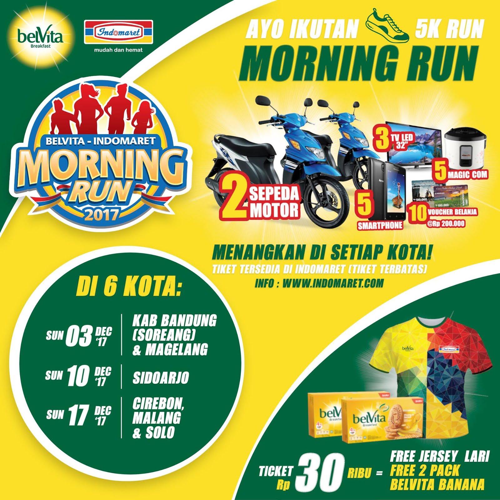 Belvita-Indomaret Morning Run • 2017
