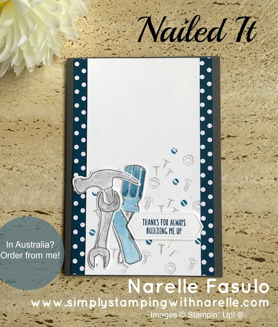 Nailed It - Simply Stamping with Narelle - available here - http://bit.ly/2obL0Af