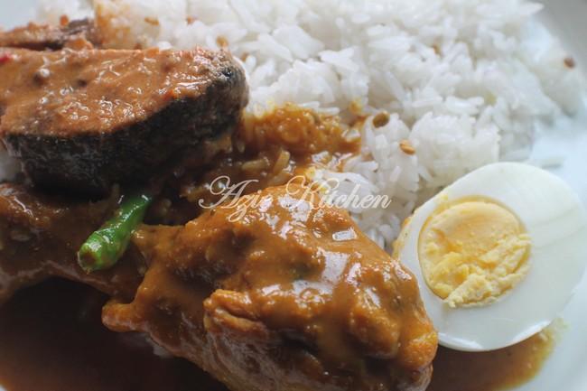 Nasi Dagang Terengganu Buat Sarapan
