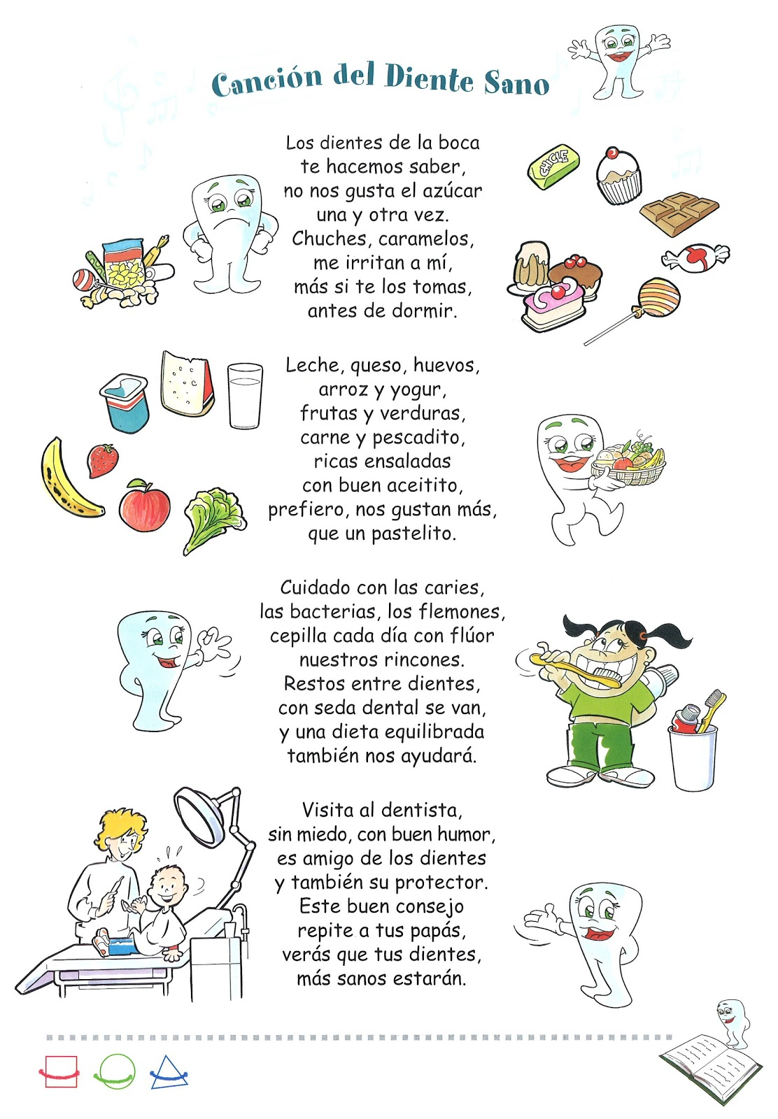 Dentista cancion infantil