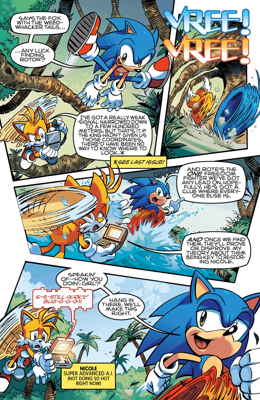 Read online Sonic The Hedgehog comic -  Issue #253 - 4