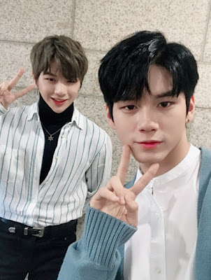 Kang Daniel and Ong Seungwoo