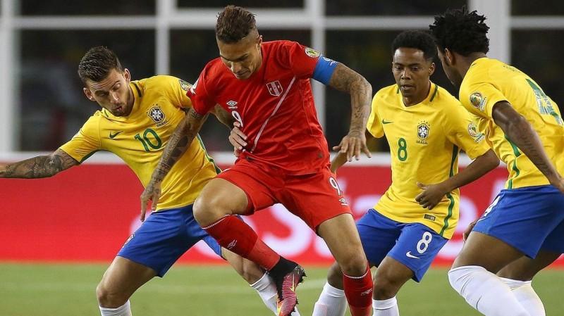 Brasil disingkirkan Peru di Copa América Centenario 2016