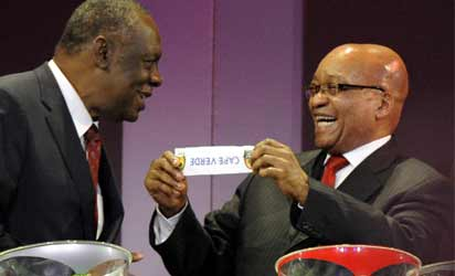 Zuma not backing Hayatou — minister