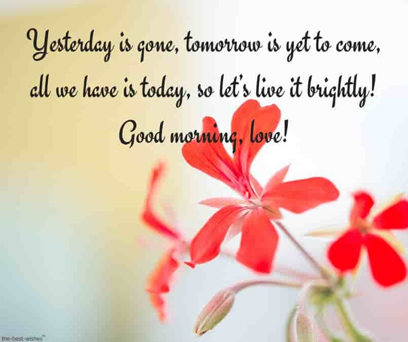 positive good morning text message image