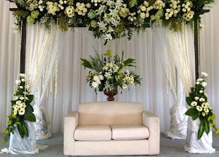 Contoh Dekorasi Pernikahan Sederhana di Rumah
