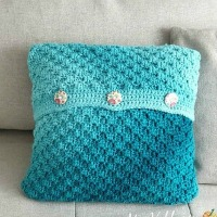 Removable C2C Pillow Case