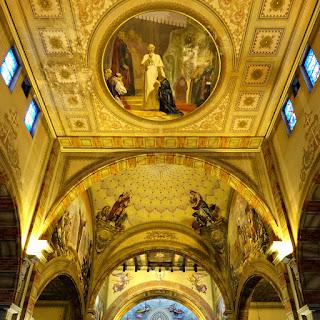 Papa Leão XIII, Evangelistas e Altar - Igreja Santa Teresinha do Menino Jesus