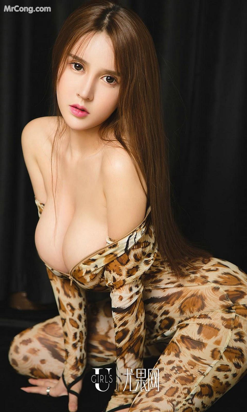 Image UGIRLS-Ai-You-Wu-App-No.1327-Bai-Yi-Han-MrCong.com-022 in post UGIRLS – Ai You Wu App No.1327: Người mẫu Bai Yi Han (白一晗) (35 ảnh)