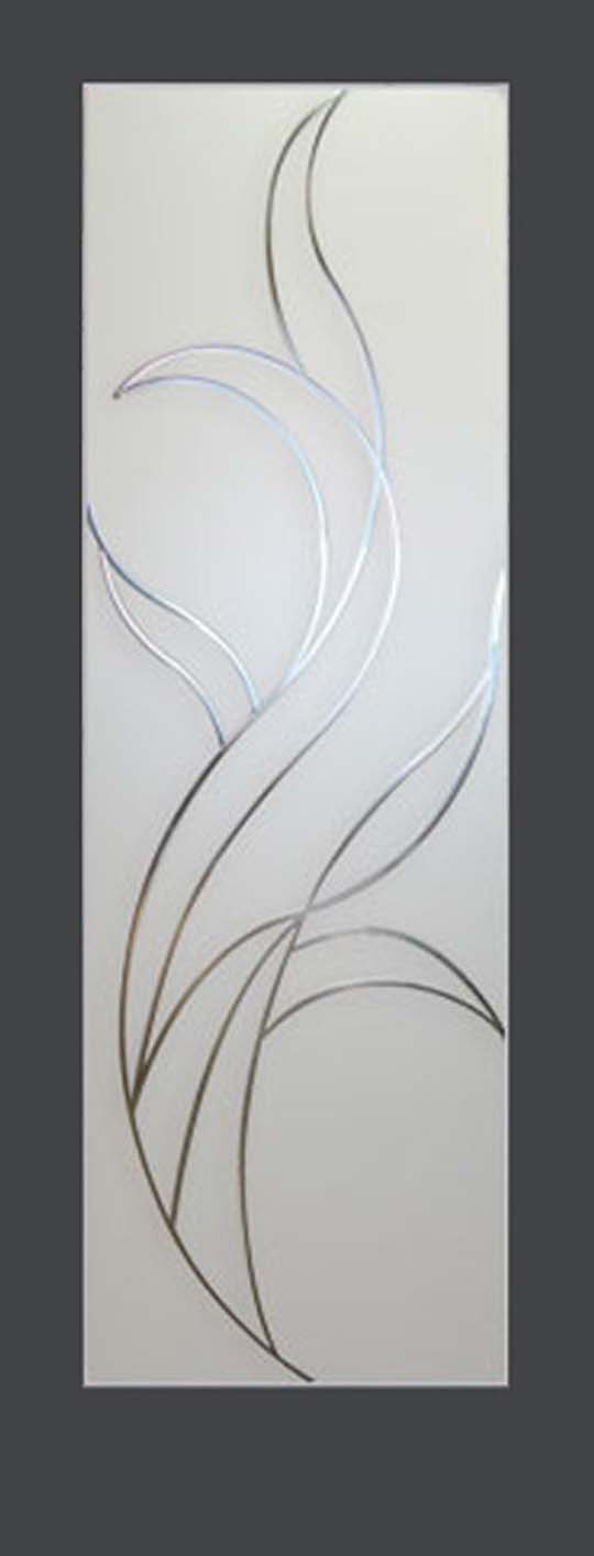 The glass above interior doors design by Ambiance