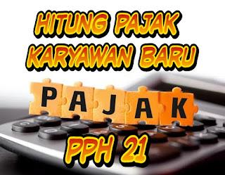 PPh pasal 21 - Cara menghitung pemotongan PPh pasal 21 atas penghasilan pegawai yang dipindahtugaskan ke lokasi lain dalam tahun pajak berjalan