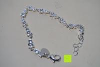 schließen: Delove Bettelarmband Geschenk Damen Armbänder Schmuck Anhänger Silber 18.5cm LKNSPCH372