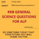RRB General science question,rrb alp general science,general science,science,rrb,general science for rrb,general science for competitive exams,general science important question answer 2018 rrb,rrb alp 2018