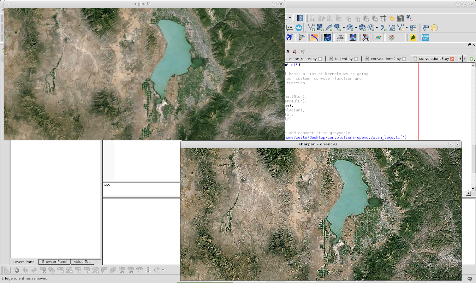 El blog de José Guerrero: Tratamiento de imágenes con openCV en Python