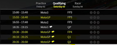 Jadwal Lengkap MotoGP Silverstone Inggris 2016