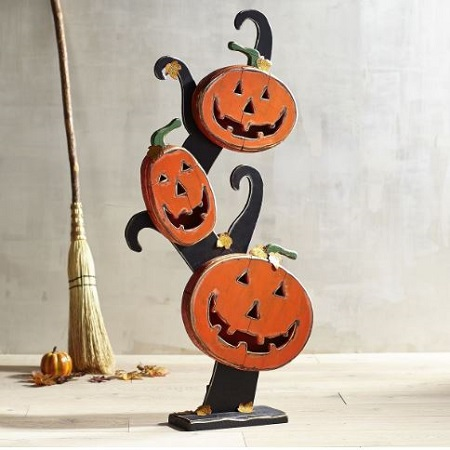 halloween sugar kitty doormat - Pier 1 Halloween