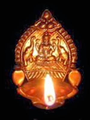 En la imagen lampara de aceite de la Diosa de la Fortuna