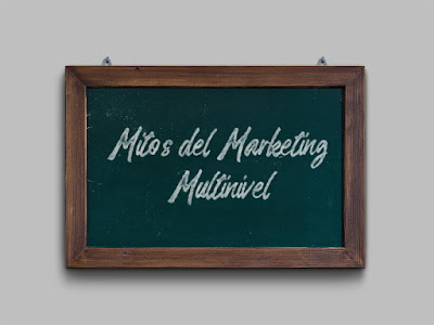 Mitos del Marketing Multinivel