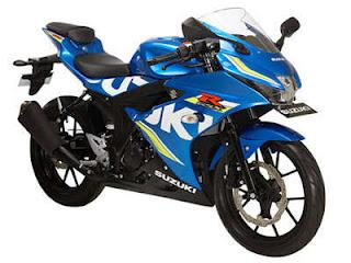 Suzuki GSX R150 Blue Color
