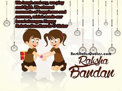 Rakhi status