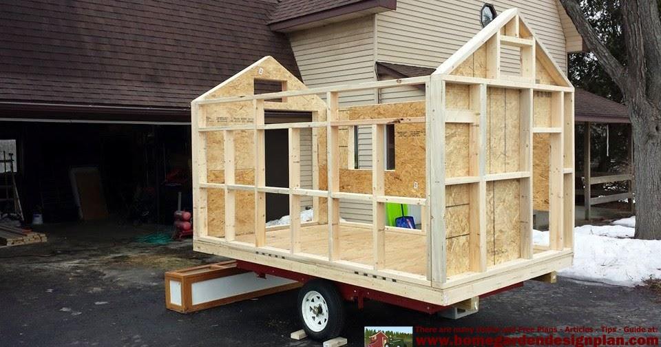 Home Garden Plans T310 Buiing Success Chicken Trailer