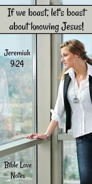 Is Christ a Celebrity, Acquaintance, or Confidant? Jeremiah 9:24