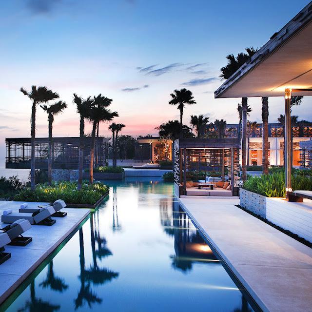 Hotel Termewah di Bali yaitu Alila Uluwatu