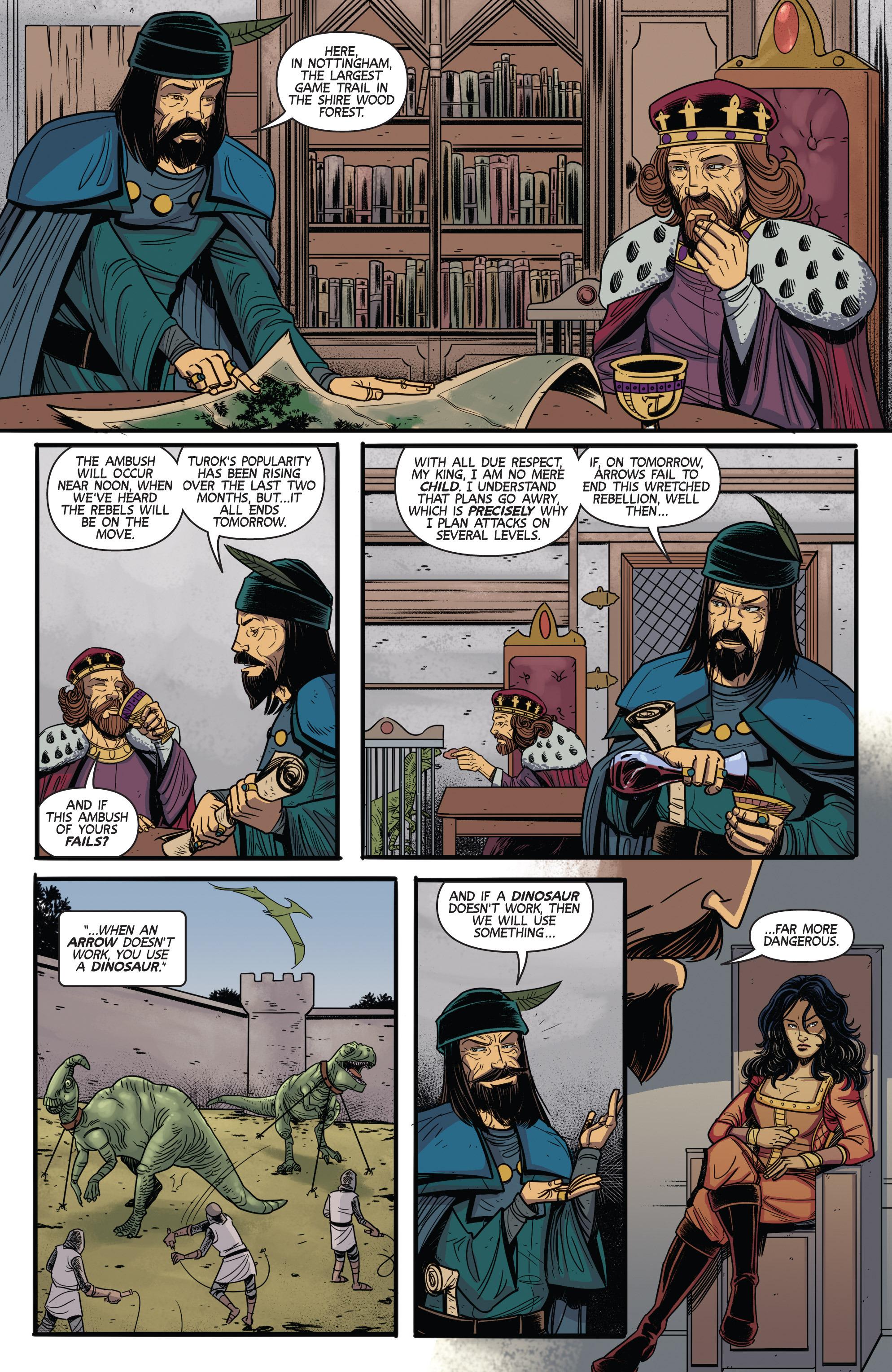 Read online Turok: Dinosaur Hunter (2014) comic -  Issue # _TPB 3 - 53